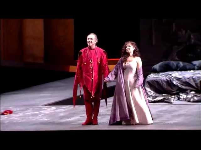Leo Nucci y Elena Mosuc BIS Si, vendetta en Rigoletto de ABAO-OLBE