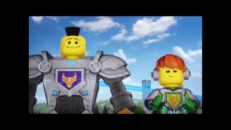 Лего мультик Нексо Найтс.Часть 1-Начало.Видео для детей.LEGO cartoon Nexo Knights.Детский канал