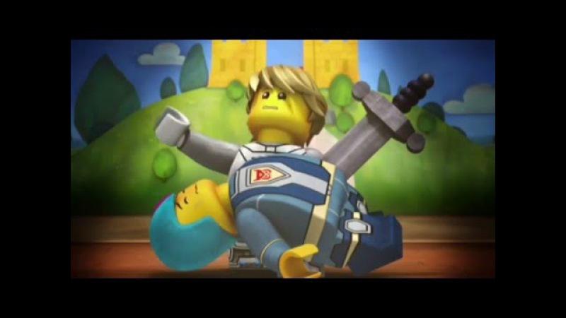 Лего мультик Нексо Найтс.Часть 2-Битва.Видео для детей.LEGO cartoon Nexo Knights.Детский канал