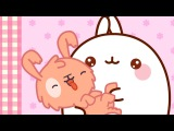 Molang - The Puppy  Cartoon for kids
