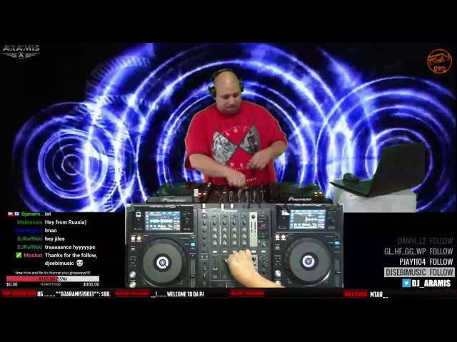 DJ Aramis - Trance Nations ep.344 recorded Live on TwitchTV