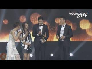 20160613[芒果娛樂] Lee Min Ho received Asian Cinema Pioneer in Weibo Movie Night 微博電影之夜 敏鎬獲亞洲電影先鋒人物