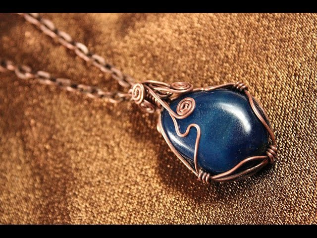 Как сделать кулон с камнем своими руками Камень и проволока
