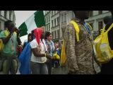 Nigerian community on WYD (World Youth Day) in Krakow (Cracovia / Krakau / Kraków / Краков / Cracow)