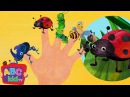 Finger Family - Insects Nursery Rhymes Kids Songs - ABCkidTV