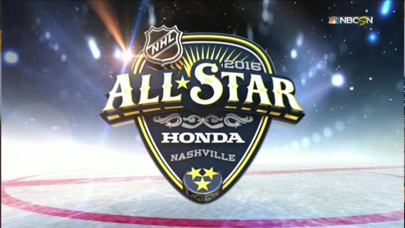NHL All-Star 2016 Weekend: Team Metropolitan vs. Team Atlantic 31.01.2016