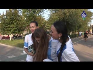 Финалистки Мисс КС пригласили самарцев на футбол - КС-ТВ