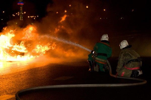 На выходных в Таганроге сгорели две «Газели»