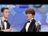 [2015 MBC Drama Awards] Чжи Сон и Пак Со Чжун - лучшая экранная пара 2015