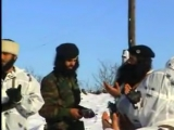 Чечня,подлое нападение ваххабитов на блок пост  Российской Армии