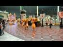 Южная Корея Сеул Lotte World Парк развлечений Карнавал Вечернее шоу и фейерверки