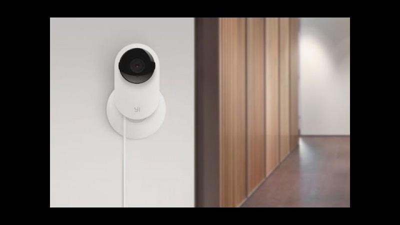 """IP – камера відеоспостереження для """"розумного дому"""" Xiaomi XiaoYi Night Vision WiFi 720P – $28,89"""