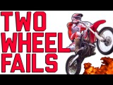 Two-Wheel Motorcycle & Cycling Fails