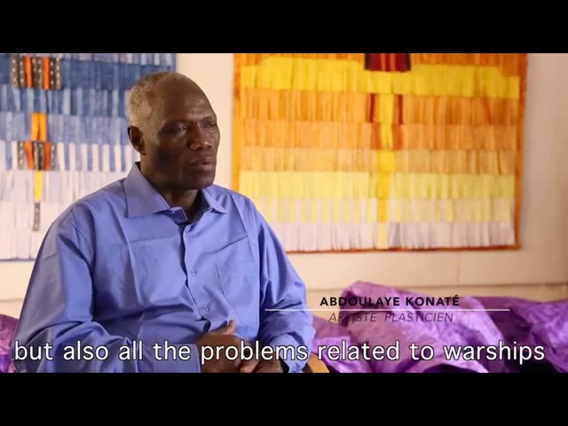 Interview with Abdoulaye Konaté in Bamako February 2015