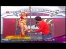 Dance of Valentina Shevchenko en reality show Combate. Reggaeton. Peru, Lima. 2013