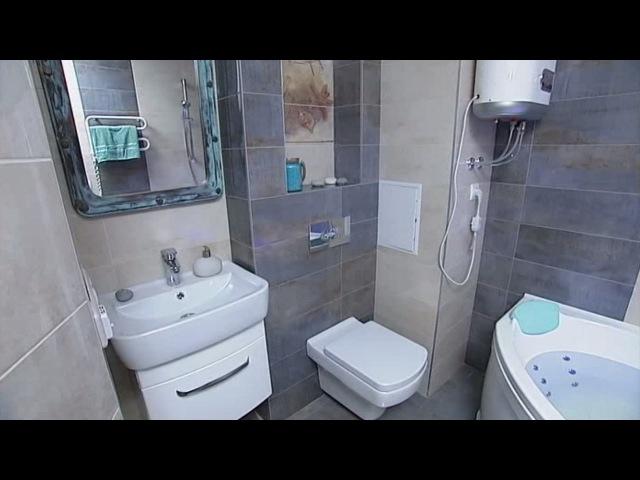 Невероятное превращение ванной комнаты! - Удачный проект - Интер