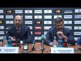 Послематчевая пресс-конференция ХК ЦСКА - ХК СКА 22.03.2016