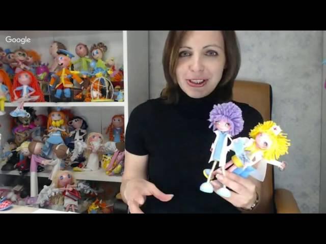 Школа авторской куклы и игрушки. День 13. Евгения Романова.