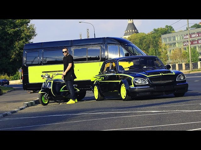Pobeda Team Garage / ОБЗОР 5-литровой ГАЗ 24 (проект ВолгаЗмзV8инжектор) / Часть 2