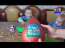 Распаковываем детский Новогодний подарок (громадное яйцо с сюрпризом Щенячий патруль)