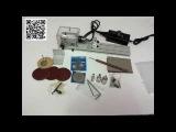 Мини токарный станок для обработки янтаря