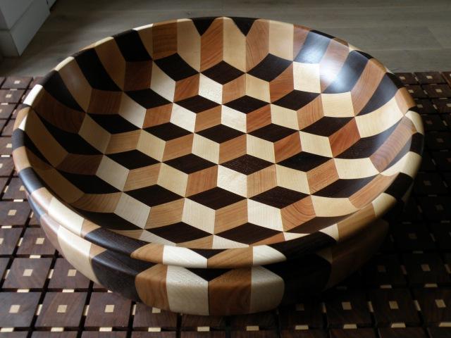 Woodturning Tumbling bowl xl