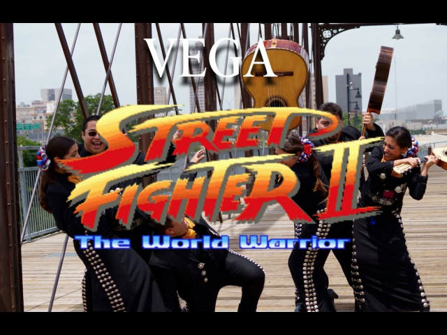 Los OneUps Con MES - Vega Theme Cover - Street Fighter II