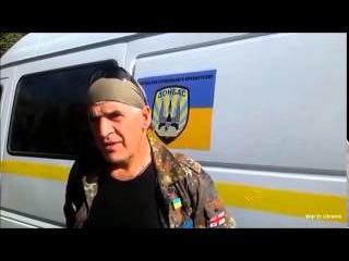 Обращение к Доберману боец батальона