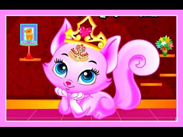 Кошечка Китти Принцесса 💓 Игра как Мультфильм Cat Kitty Princess 💓 Game as a Cartoon