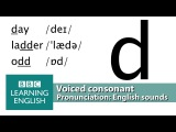 Say dame, ladder, odd and did. Voiced Consonants. Pronunciation Tips. d