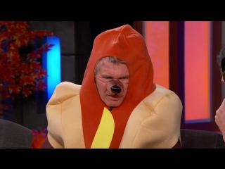 Harrison Ford Talks About Star Wars in a Hotdog Costume