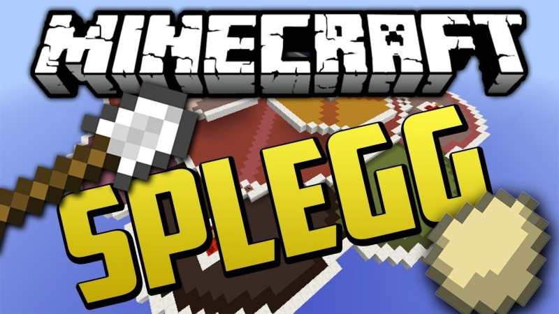 Minecraft | Splegg | 1 | Го 50 луйков с