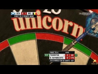 Scotland vs Belgium (PDC World Cup of Darts 2016 / Quarter Final)