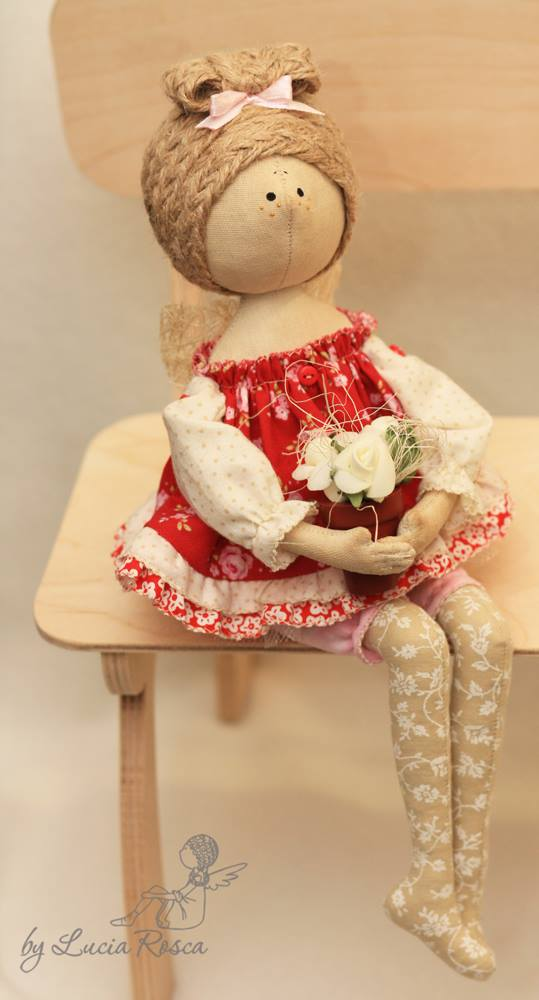 красивые куклы Лучии Рошко