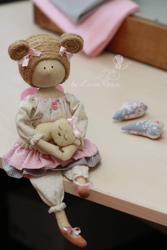авторские тряпичные куклы