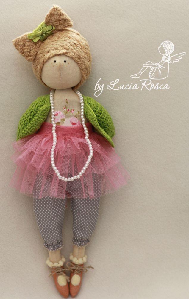 красивые куклу авторской работы