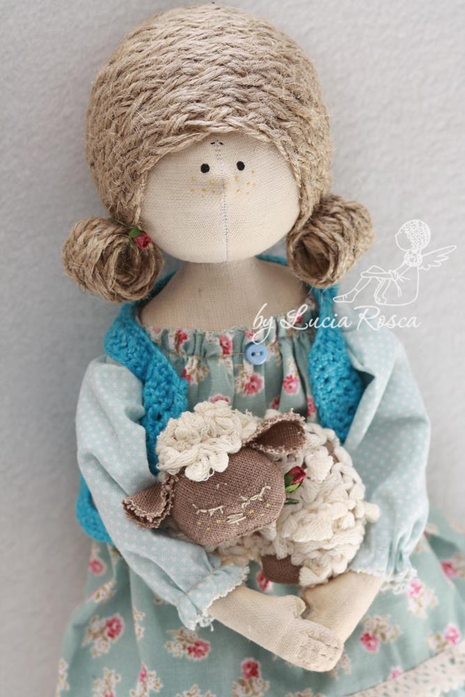 тряпичные куклы Лучии Рошко