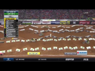 AMA Supercross 2016. Этап 8 - Атланта