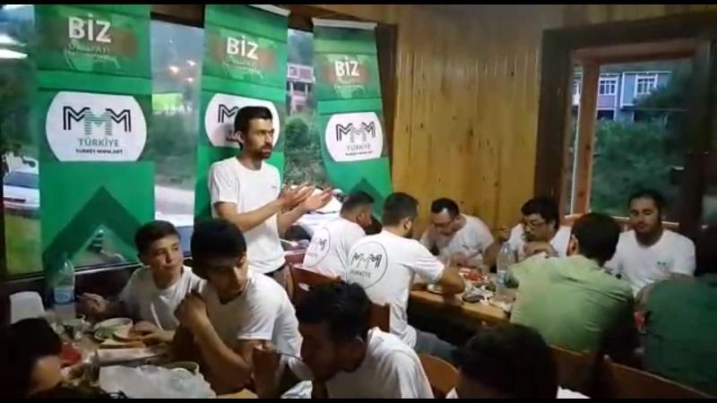 MMM Türkiye Ordu'da bir iftar düzenledi