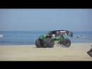Grave Digger 2011. Monsters on the Beach Virginia Beach [HD]