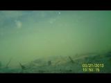 Тест китайской экшн камеры. Подводная съемка. Sports DVR Helmet Waterproof Camera HD