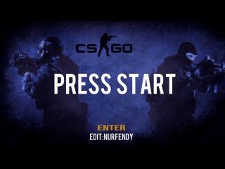 CS:GO (DUST2) - PRESS START