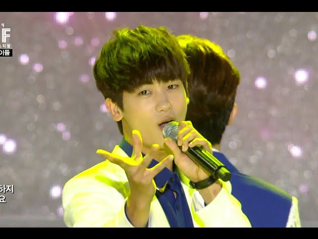 ZE:A - Breathe, 제국의 아이들 - 숨소리, Show Champion 20140806