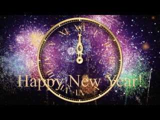 HAPPY New Year Clock 2016 ( v 480 ) Countdown Timer with Sound Effects + Voice HD 4k