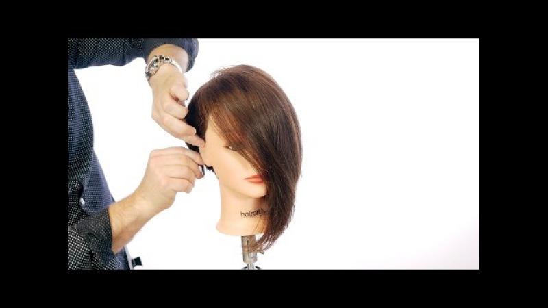 Asymmetric Bob Haircut - TheSalonGuy