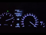 Lexus LS460 2007 120-283 kmh Top Speed test on Autobahn