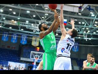 1/4 playoffs. Nizhny Novgorod vs UNICS Game 3 Highlights