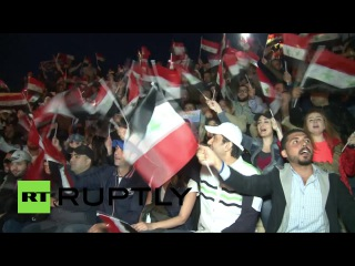 Национальный симфонический оркестр Сирии выступил в древней Пальмире