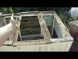 Компостная яма! The compost pit!