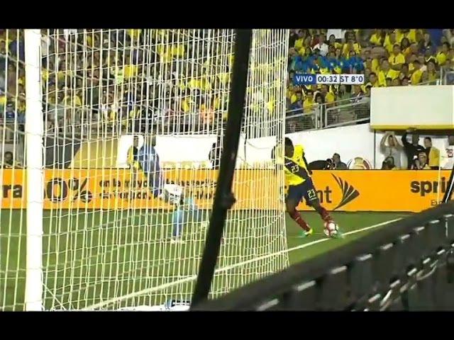 ¿Salió o no salió? Gol Anulado a Miller Bolaños   Brasil vs Ecuador   Copa América Centenario